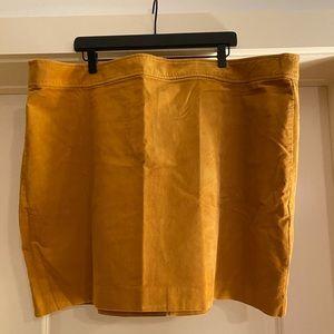 J Crew Corduroy Mini Skirt size 24 NWT